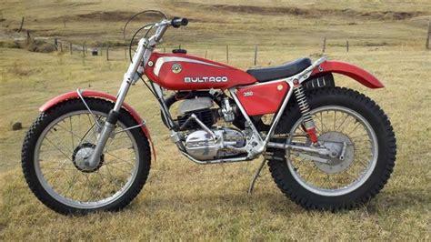 trials and motocross bikes for sale 1976 bultaco t350 sherpa trials scrambler tracker dirt
