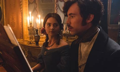 tom hughes roles jenna coleman plays newlywed queen victoria in this week s