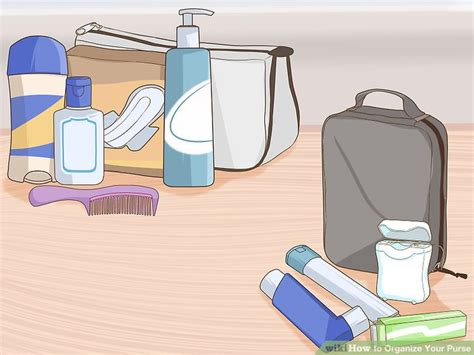 9 Steps To Organize Your Bag by How To Organize Your Purse With Pictures Wikihow