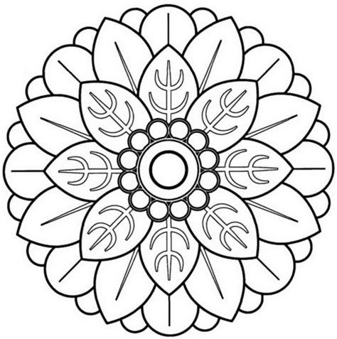 descargar imagenes lindas para dibujar a color 60 im 225 genes de mandalas para colorear dibujos para