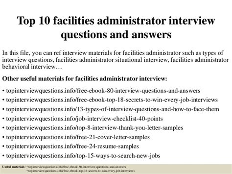 pediatric associates front desk salary top 10 facilities administrator questions and