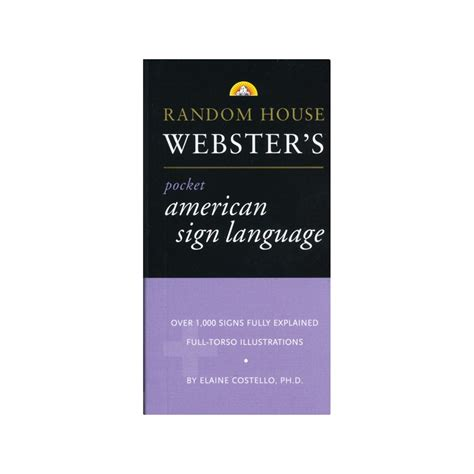 Random House Webster S Large Print Thesaurus Random House Newer Words Faster Random House Maxiaids Random House Websters Pocket Asl Dictionary