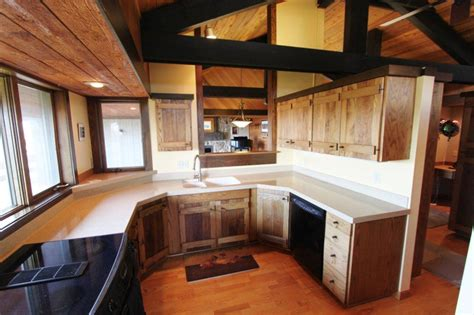 The Kitchen Great Falls Mt by Great Falls Real Estate Montana Rustic Property