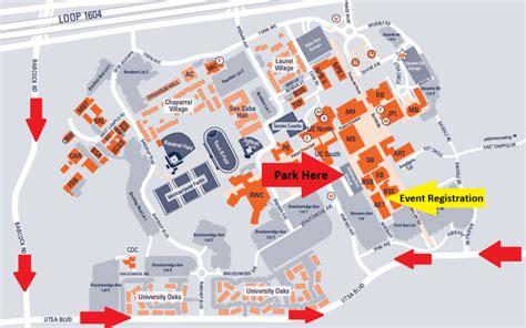utsa map events giving utsa the of at san antonio