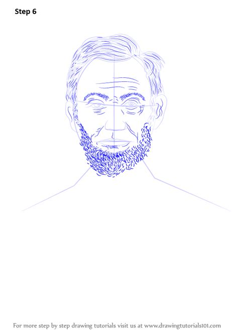 abraham lincoln how learn how to draw abraham lincoln politicians step by