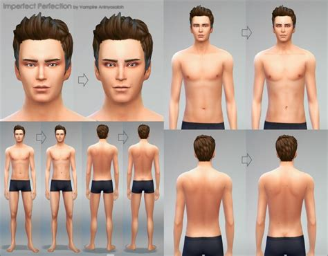 mod the sims sims 4 skins imperfect perfection skin by vire aninyosaloh at mod