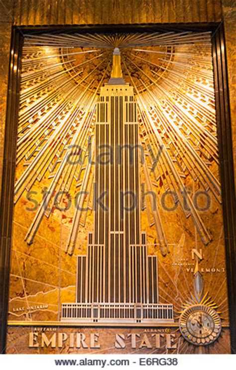 foyer of building empire state building entrance or foyer of the empire