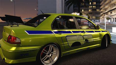 brian fast and furious 1 car forza horizon 2 fast furious cars brian s evo youtube