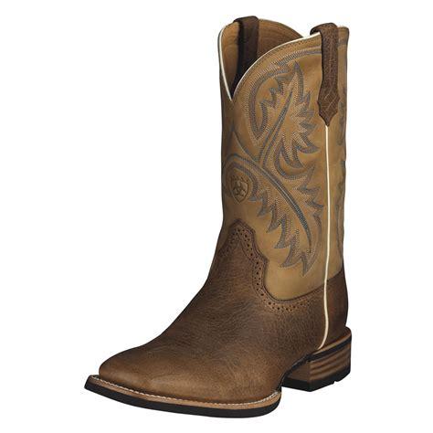ariat quickdraw boots mens pungo ridge ariat quickdraw boots tumbled bark beige