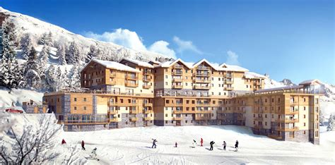 Location appartement ski Les Ménuires : Séjour Résidence Club Vacances MMV Le Coeur des Loges
