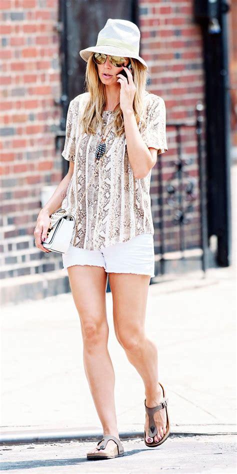 Who Wore Michael Kors Better Heidi Klum Or Hudson by Heidi Klum Wearing The Michael Kors Sloan Flap Bag New