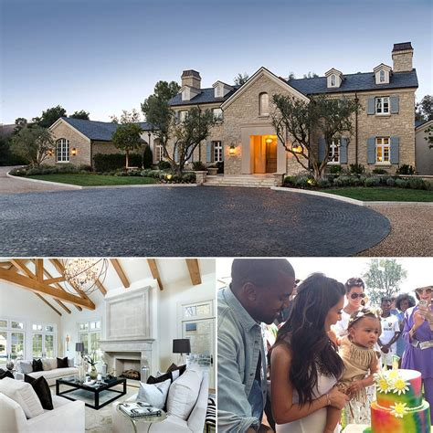 kayne home and kanye west new house popsugar home