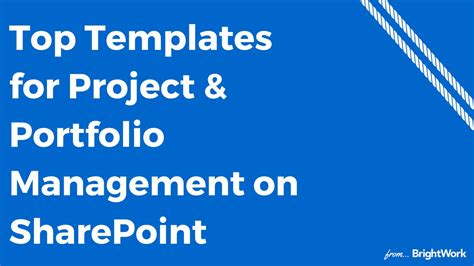 Mba Project On Portfolio Management by Top Templates For Project Portfolio Management On