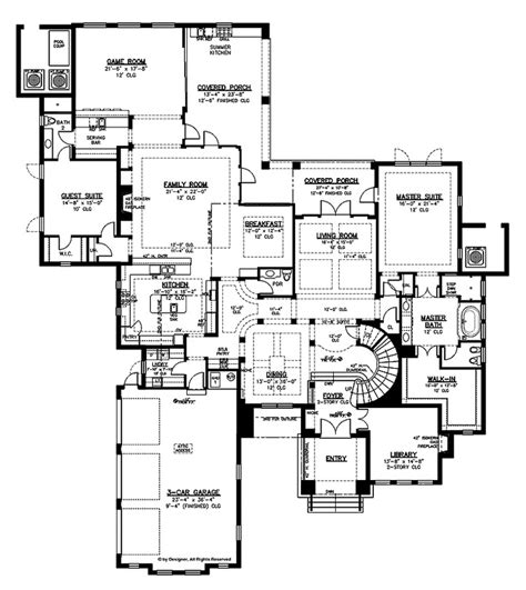 spanish villa house plans italian villa floor plans spanish villa floor plans
