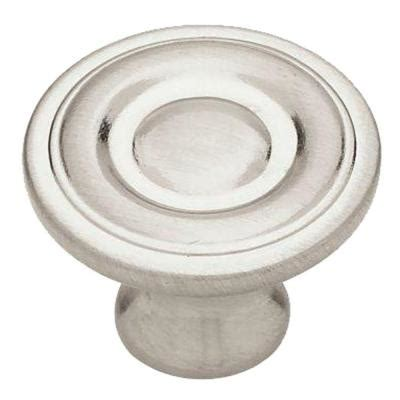 liberty 1 1 4 in satin nickel hollow cabinet knob p11747v sn c liberty 1 1 4 in satin nickel ring round cabinet knob