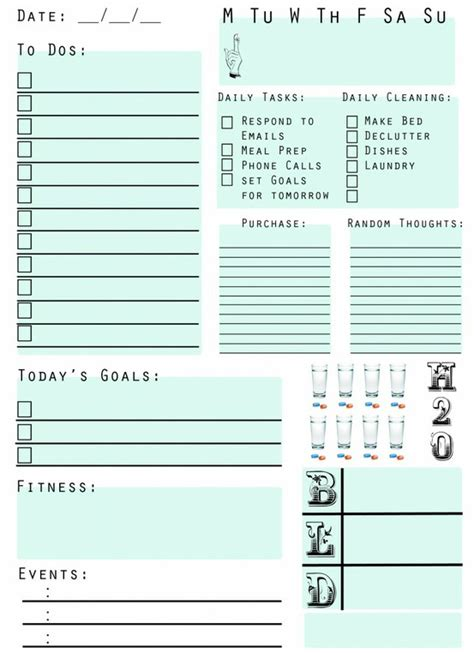 printable planner things this week on pinterest jenny collier photography 187 jenny