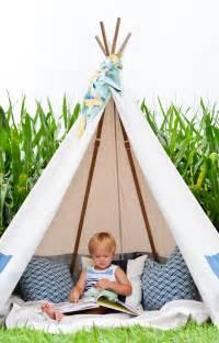 How To Make A Backyard Teepee Diy No Sew Teepee Project Nursery