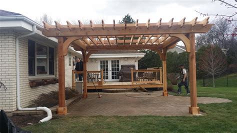 pergola 201 custom built fence deck