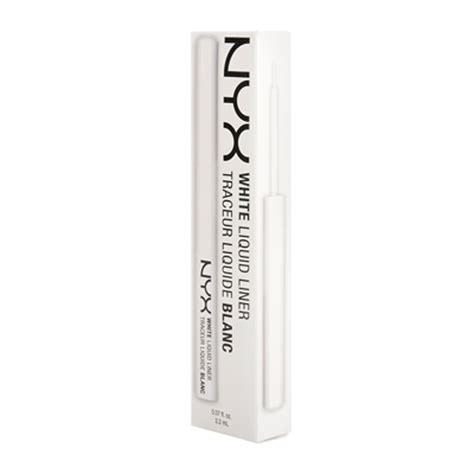 Eyeliner Nyx White nyx professional makeup white liquid liner 1 7ml feelunique