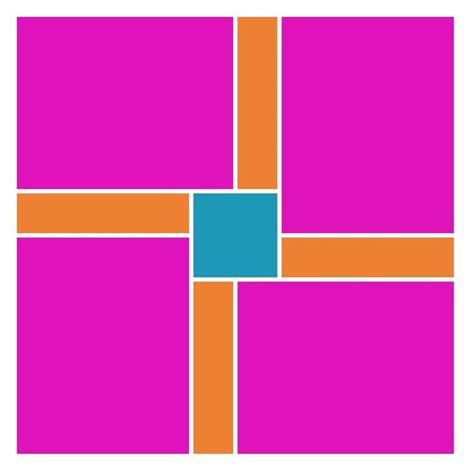 photo collage design pinwheel pattern 17 best images about scrapbook mosaic on pinterest