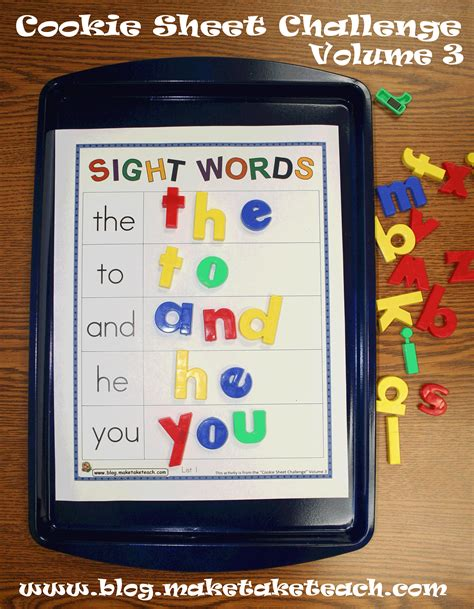 Sight Word Space Station Board kinderworld word work