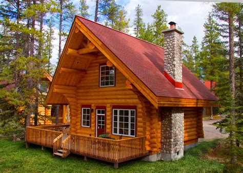 Cabin Floor Plan With Loft by Jasper Cabin Rentals Jasper National Park Alberta Canada