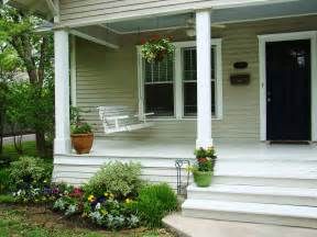Small Home Design With Front Balcony Exterior Attractive Small Front Porch Decoration Using