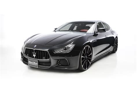 black maserati ghibli wald maserati ghibli black bison is a thing of beauty