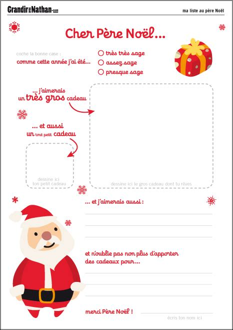Exemple Lettre Pere Noel Originale Printable Lettres Au P 232 Re No 235 L
