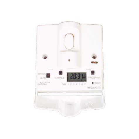 indoor timer security lights timeguard 7 day indoor digital security light switch ebay