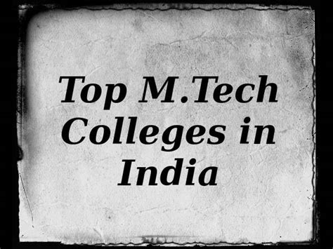 Top 25 Mba Colleges In Mumbai by Top 25 M Tech Colleges In India Careerindia