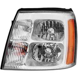 2007 Cadillac Escalade Headlight Assembly Cadillac Escalade Headlight Assembly Parts View