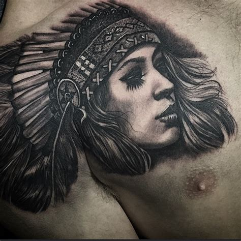 feather hair graphic indian tattoo best tattoo