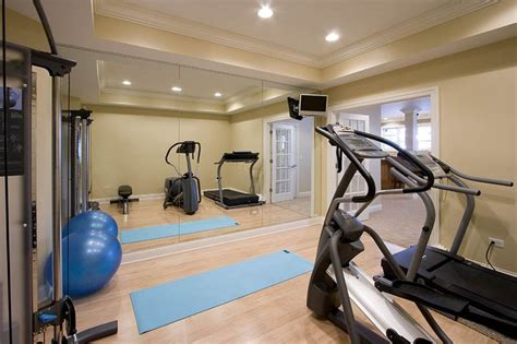 basement workout room basement