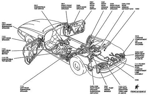 00 mustang fuel diagram fuel free printable