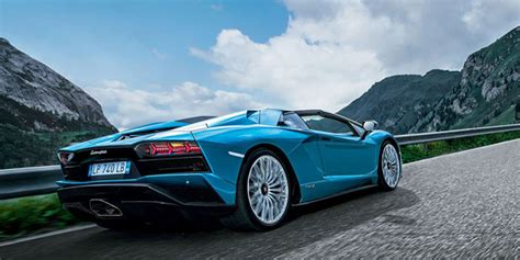 aventador s roadster press release at lambocars com