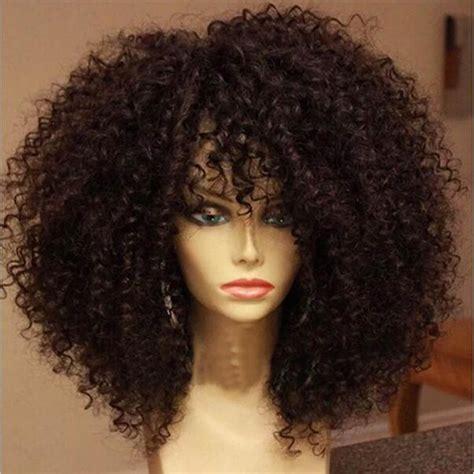 short curly bob wig 7a grade brazilian short full lace human hair wigs curly