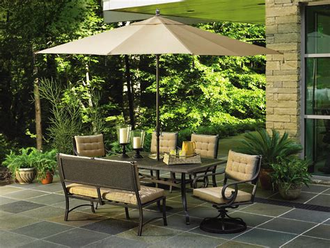 sears outdoor patio furniture outdoor patio furniture umbrellas cushions chairs