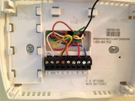 honeywell thermostat wiring diagram rth6350 get free