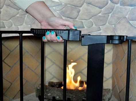 fireplace gate for toddlers tools equipment fireplace gates for with the lock