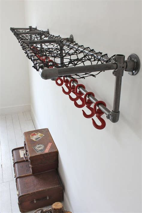 Pipe Bookcase Diy 15 Industrial Pipe Rack Storage Ideas Home Design And