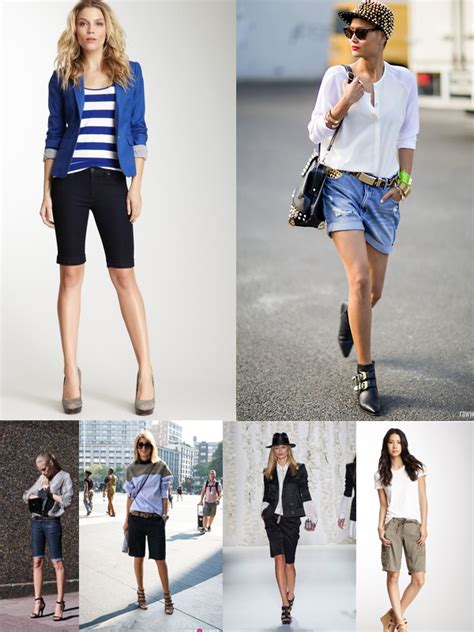 Trend Alert Walk The Tightrope by Trend Alert Bermuda Shorts For Summer The Fashion Tag