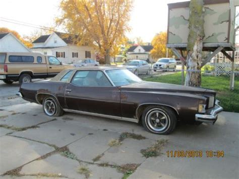 sell used 1973 pontiac grand prix in marengo iowa united states