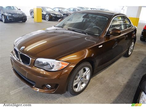 bmw 1 series brown 2012 bmw 1 series 128i coupe in marrakesh brown metallic