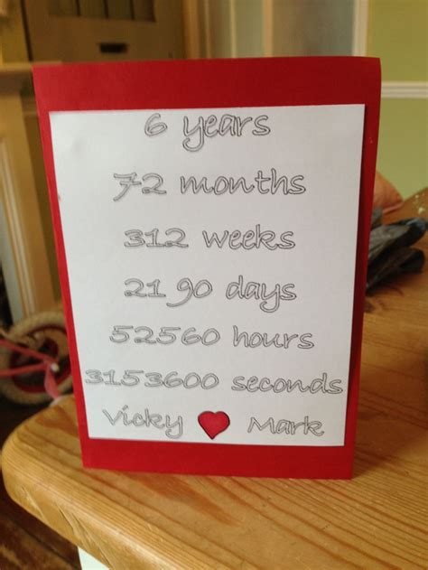 Best 25 6 Year Anniversary Ideas On Pinterest 7 Year Wedding Anniversary Traditional Gift