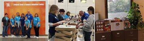 Albion Food Pantry by News October 13 2016 Hlr Volunteers At Local Food Banks