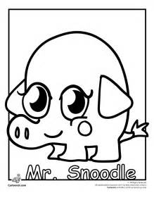 moshi monsters coloring pages free moshi moshlings coloring pages