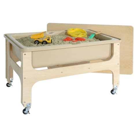 sand and water table with lid deluxe toddler size sand and water table with lid