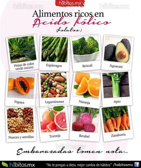 alimento acido 17 mejores ideas sobre acido folico embarazo en