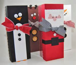 laura s works of heart christmas tag a bag gift boxes